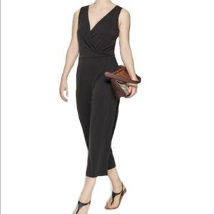 A New Day Sleeveless Faux Wrap Stretch Jumpsuit XL